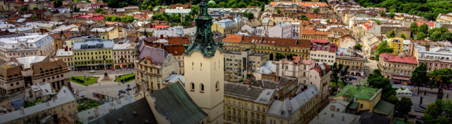 Lviv  is the most cultural and elegant city, it's also its most tourist friendly